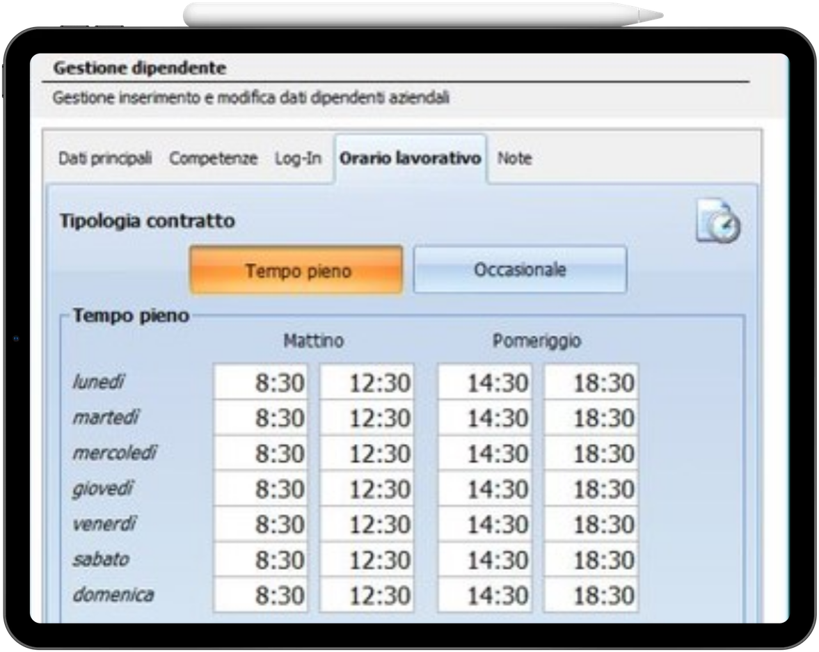 software gestione personale